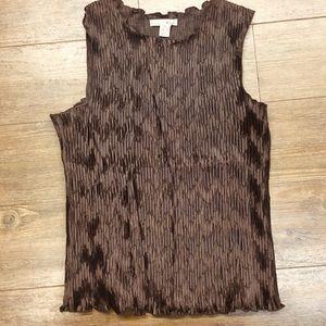 WD-NY petite tank top sleeveless blouse PL